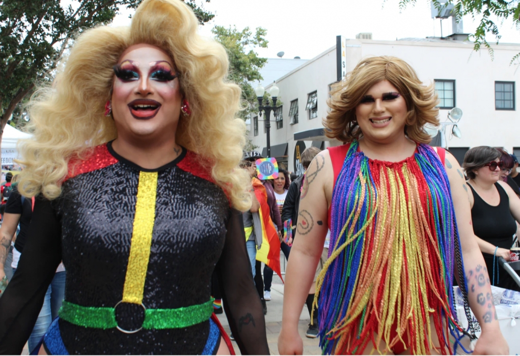 Local drag queens' identities are being continuously challenged in Tasmania
